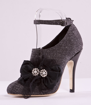 Bow Ankle Strap Shoe Image 1
